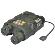 PEQ-15 Battery Box with Green Laser (Black)