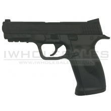 Huntex Large M&P Co2 Pistol (4.5mm-BK)