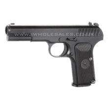 KWC TT33 Co2 Pistol (4.5mm - KM-45DHN - Metal Slide - NBB - Black)