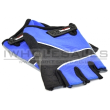 Gloves with Extra Hand and Palm Protection (Breathable Material) (Blue)