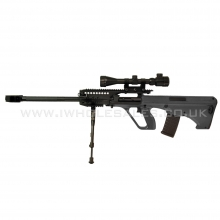 JG AUG5 Aug Sniper with Hunter Scope and Metal Bipod (JG-0446A)