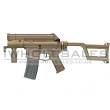 ARES Amoeba M4 Tactical AEG  / Electric Firing Control Gearbox (Tan)