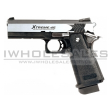 Tokyo Marui Hi-Capa 4.3 Xtreme .45 Dual Stainless (Fully Automatic)