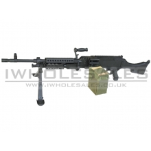 Golden Eagle M240 Bravo AEG Support Rifle