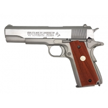 Colt M1911 MKIV Series 70 Co2 Blow Back Pistol (Full Metal - Silver - Cybergun - 180529)