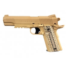 Colt M45A1 Co2 Pistol (Tan - Fixed Slide - Cybergun - 180313)