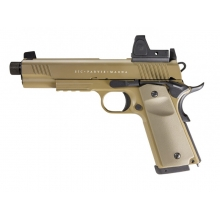 Secutor - Rudis Magna - 1911 - VII Custom Pistol (Co2 Powered - Gas Ready - Tan)