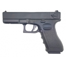 Golden Hawk 17 Series Pistol (1:1 Scale - Full Metal Slide - Black)