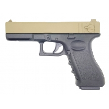 Golden Hawk 17 Series Pistol (1:1 Scale - Full Metal Slide - Tan)
