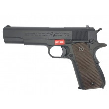 Cybergun Colt M1911A1 Gas Blowback Pistol (by AW Customs - CG-AP0100 - 180565)