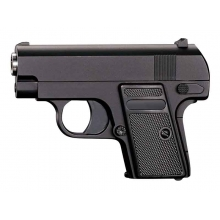 CCCP CT25 Spring Pistol (Full Metal - Black - V6)