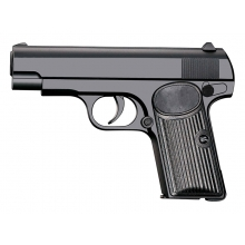 CCCP TT33 Custom Spring Pistol (Full Metal - Black - V8)