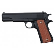 CCCP 1911 S2 Custom Spring Pistol (Full Metal - Black - V14)