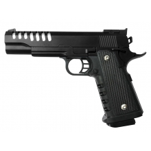 CCCP 4.3 Ported Spring Pistol (Full Metal - Black - V16)