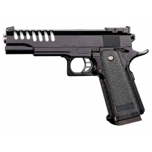 CCCP 5.1 Ported Spring Pistol (Full Metal - Black - V17)