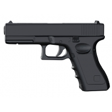 CCCP 17 Series Spring Pistol (Full Metal - Black - V20)