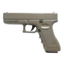 CCCP 17 Series Spring Pistol (Full Metal - Brown - V20)