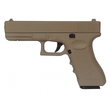 CCCP 17 Series Spring Pistol (Full Metal - Tan - V20)