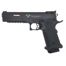 Jag Precision x Taran Tactical International Licensed JW3 Combat Master Gas Blowback Pistol (TTI - Full Metal - Black)