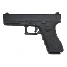 Army 17 Series Gas Blowback Pistol (Polymer Body and Slide - Black - R17-5)