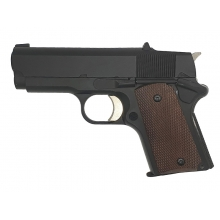 Army R45 Stubby Gas Blowback Pistol (Polymer Body and Slide - Black - R45)