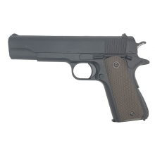 Golden Hawk 1911 Series Heavy Pistol (1:1 Scale - Full Metal - Black)