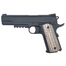 SRC 1911A1 Co2 Blow Back Pistol (SR45A1 - Black - CO-732BX)