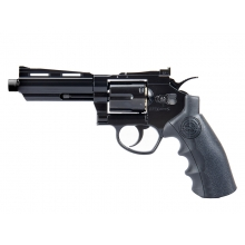 "SRC 4.0"" Titan Co2 Revolver (Full Metal - COR-802BX - Black)"