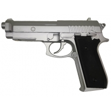 Cybergun PT92 BAX Full Metal Non-Blowback Co2 Pistol (Silver- Cybergun - 210310)