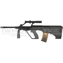 ARMY AUG Carbine LE Model AEG with Adjustable Scope (Black - ARMY-R903)