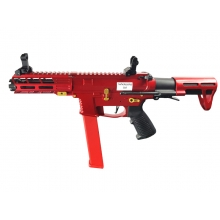 Classic Army Nemsis X9 SMG (Metal - Red - CA119M)