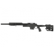 Well MB4410a PSG-1 Spring Sniper Rifle (Upgraded Steel Parts - Black)