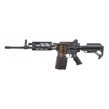 Golden Eagle MCR LMG AEG with Electric Drum Mag. L (2600 Rnds - with Battery & Charger - F6670)