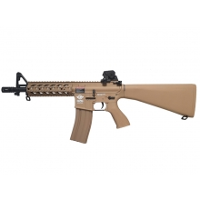 G&G RIFT Raider Airsoft AEG (Combat Machine - Fixed Stock - EGC-16P-RDS-BNB-NCM - Tan)