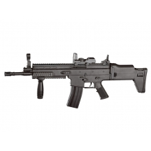 CCCP S-C-R Spring Rifle with Foregrip (Black - 8902A)