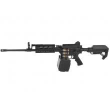 Golden Eagle MCR LMG AEG with Drum Mag. XL (2600 Rnds - Sound Control - with Battery & Charger - F6669)