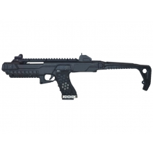 Armorer Works Gas Blowback VX Pistol with Tactical Carbine Conversion Kit (Black - AW-VX0300)