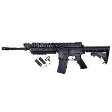Golden Eagle M4 RIS S-System AEG (Inc. Bat. & Charger - Polymer Body - F6613)
