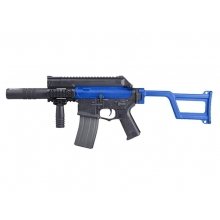 Ares Amoeba Tactical M4 AEG With Silencer (ARES-AM-005-BK - Blue)