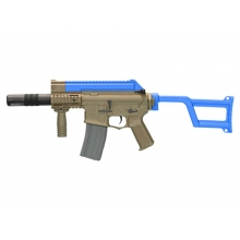 Ares Amoeba Tactical M4 AEG With Silencer (ARES-AM-005-DE - Blue)