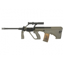Army Raptor Standard AUG with Scope and RIS Rails (OD - R902)