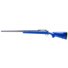Barrett Firearms by EMG Fieldcraft Precision Bolt-Action Sniper Rifle with Featherweight Zero Trigger (Blue - APS - BF-B) (Blue)
