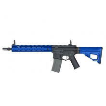 Ares Amoeba Octaarms Pro SR16 AEG with EFCS Unit (Full Metal - Blue - Long - AR-071 - Blue