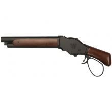 S&T M1887 Gas Shell Ejecting Shot Gun (S - Real Wood - Wide Lever - STGS07SW)