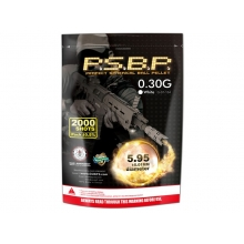 G&G P.S.B.P. Perfect 0.30g BB's (2000 Rounds- G-07-208)