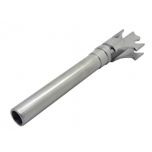 WE Browning outer barrel, silver