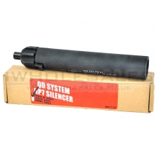 KWA by Angry Gun MP7 Power Up Silencer (QD System) (Black)