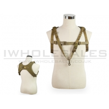 Big Foot One Point Sling Vest (Tan)
