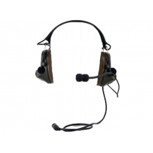 ZTac Comtac II - Electronic Ear Defenders and Coms Headset w/ Mic - FG