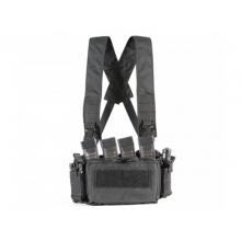 Big Foot D3CRM Chest Rig Vest (with Three Magazine Pouch - Black)